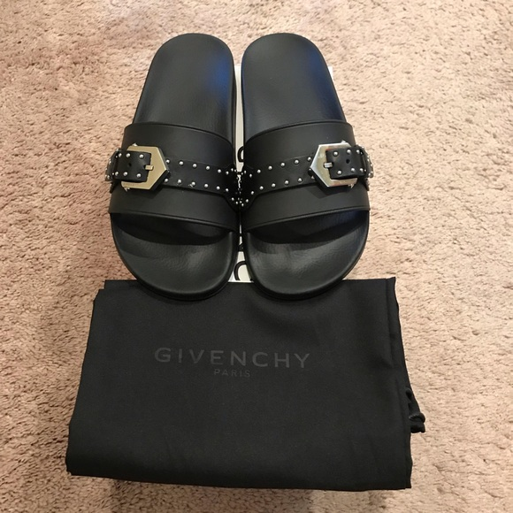 dbae580a59ad Givenchy Shoes - Sale! Givenchy Buckle Slides